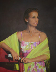 Retrato de Dª Carmen Fructuoso García (2009)