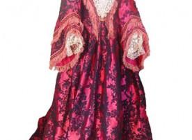 28. Indumentaria.Vestido de 1866