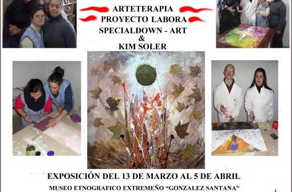 Museo Etnográfico. Gonzalez Santana. Olivenza. Extremadura. Exposiciones. Proyecto. El Color de la Vida -Cartel