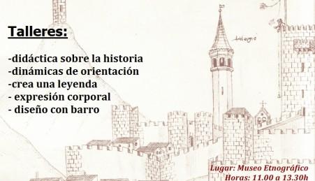 Museo Etnográfico. Extremeño. González Santana.Olivenza.Cartel Taller Oliventia y sus rumbos