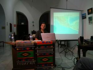 """Un momento de la charla """"Educación y Etnicidad"""""""