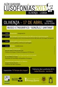 Cartel de la edición de las Lusofonías 2015