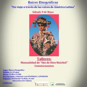 Museo Etnográfico. González Santana. Olivenza. Extremadura. Actividades. Didáctica. Talleres. Cartel Taller Raíces Etnográficas
