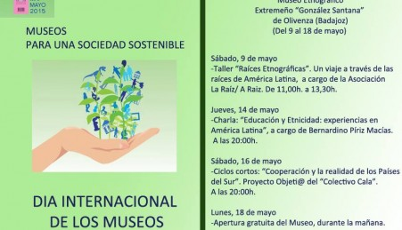 Museo Etnográfico. González Santana. Olivenza. Extremadura. Programación Día Internacional de los Museos