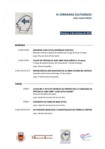 Programa de la IV Jornada