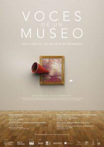 Cartel Voces de un Museo