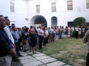 """Museo Etnográfico. """"González Santana"""". Olivenza. Extremadura. Acto Institucional. Público asistente"""