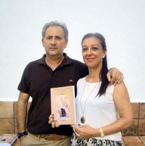 Miguel Ángel Vallecillo Teodoro y Mª Teresa Plaza Núñez, autores del libro