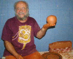 El alfarero Diego Bermejo Pérez.