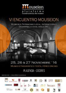 "Museo Etnográfico Extremeño ""González Santana"". VI Mouseion"