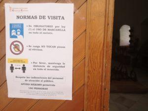 Nuevas normas de visita